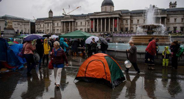 Police impose London ban on Extinction Rebellion