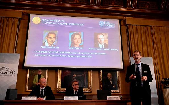 Trio wins economics Nobel Prize for work on poverty