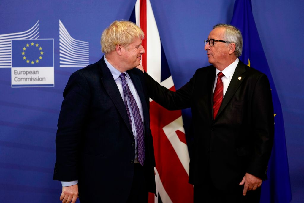 Johnson urges MPs to back Brexit deal as Juncker praises breakthrough for 'peace and people'