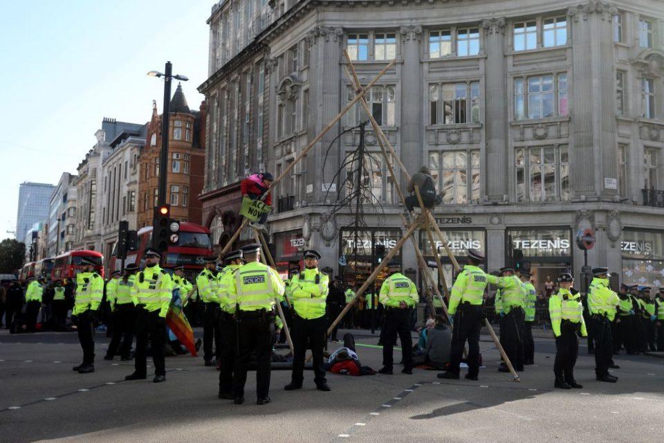 Extinction Rebellion protests cost Met Police £37m - CityAM