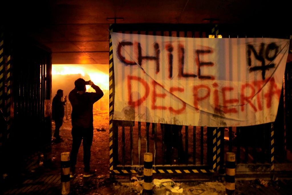 Chile declare state of emergency in capital city amid unrest