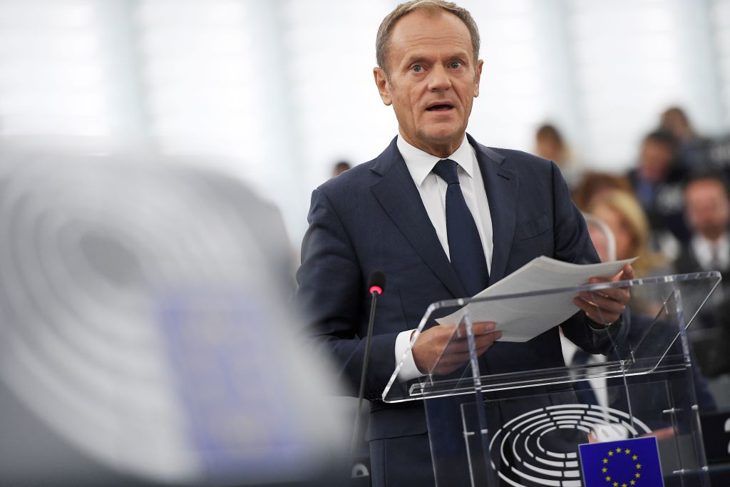 Donald Tusk opens door to Brexit extension ahead of key vote