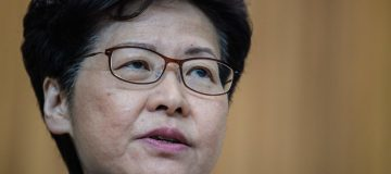 Hong Kong's chief executive Carrie Lam is 'disappointed' by Moody's downgrade