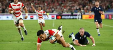 Japan 28-21 Scotland: Hosts produce scintillating rugby to reach World Cup quarter-finals
