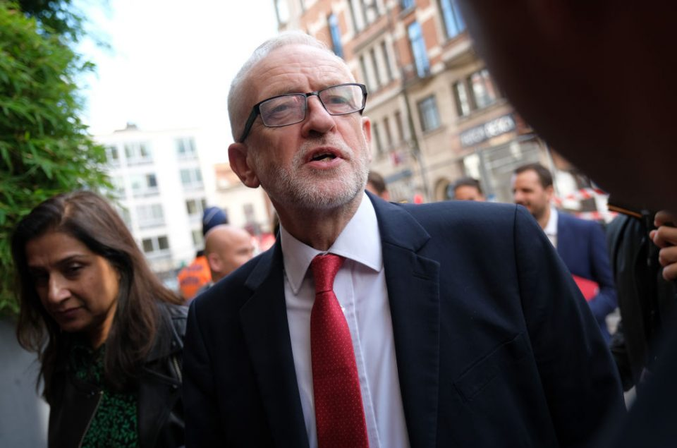 Jeremy Corbyn has criticised the Brexit deal bill for not protecting workers' rights