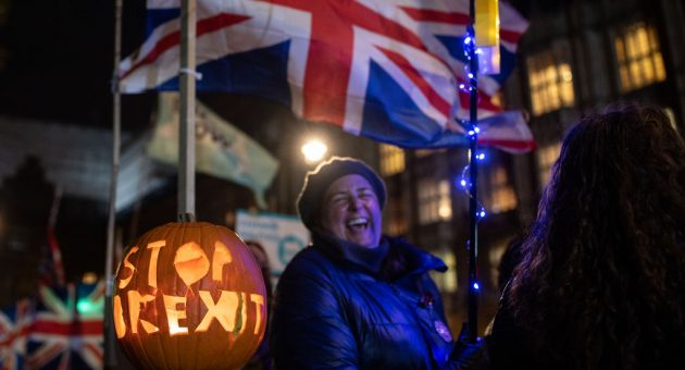 It's Halloween: Beware the horror of an inescapable Brexit deadline