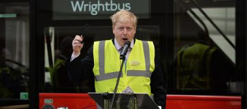 Bamford closes in on Boris bus maker Wrightbus