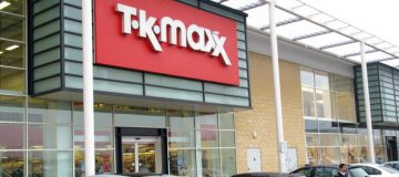 TK Maxx posted a rise in sales