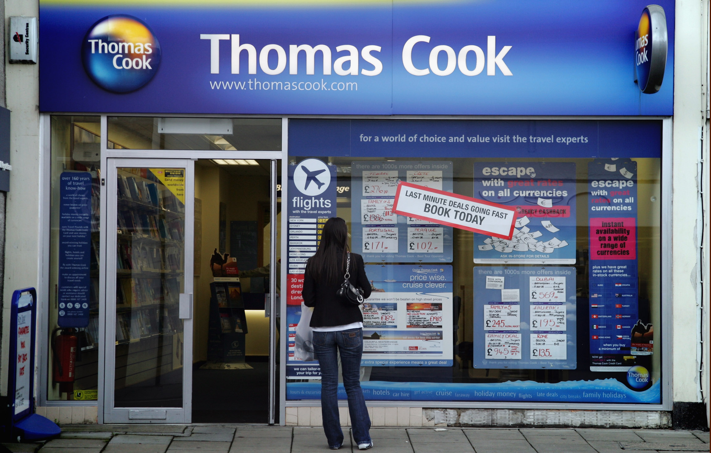 Will the buyout of Thomas Cook's 555 high street stores take off?