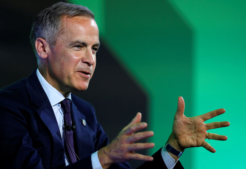 Mark Carney says Bank of England to stress test banks with 'catastrophic' climate scenario