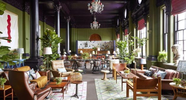 Decorex lounge by Harding and Read
