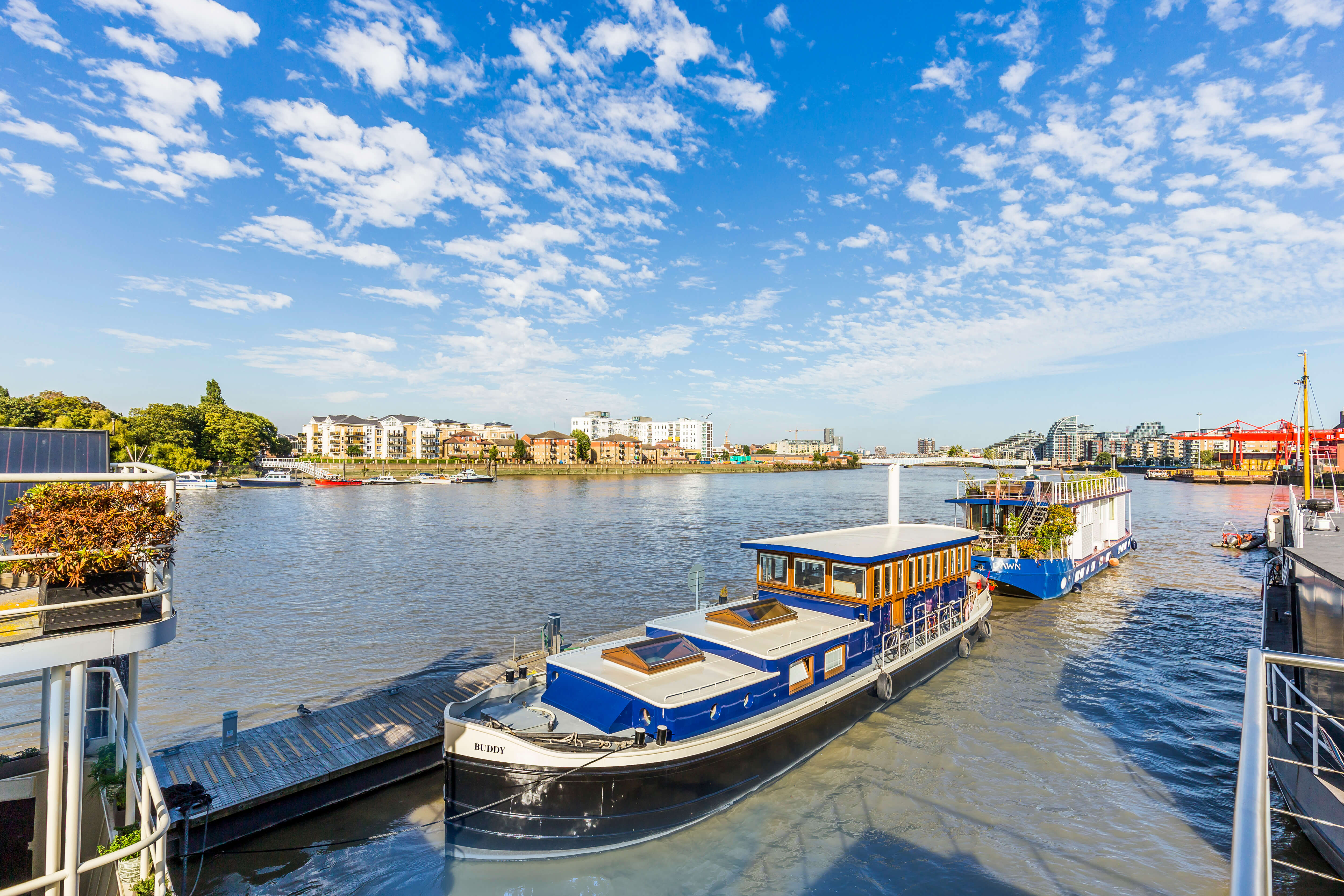 Property of the Week: Get moor for your money with this Wandsworth houseboat