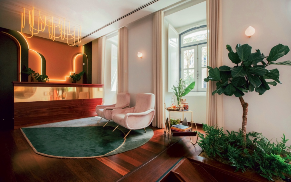 The Vintage in Lisbon in a slice of mid-century modern luxury