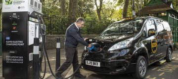 Back to the future: London unveils first fully electric taxi since... 1897