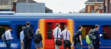 """People should think """"carefully"""" about travelling over the Christmas period, the transport secretary warned today, because of """"limitations"""" on the UK's railways."""