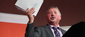 DUP's Sammy Wilson warns Westminster that Northern Ireland will have its voice heard loud and clear in Brexit negotiations