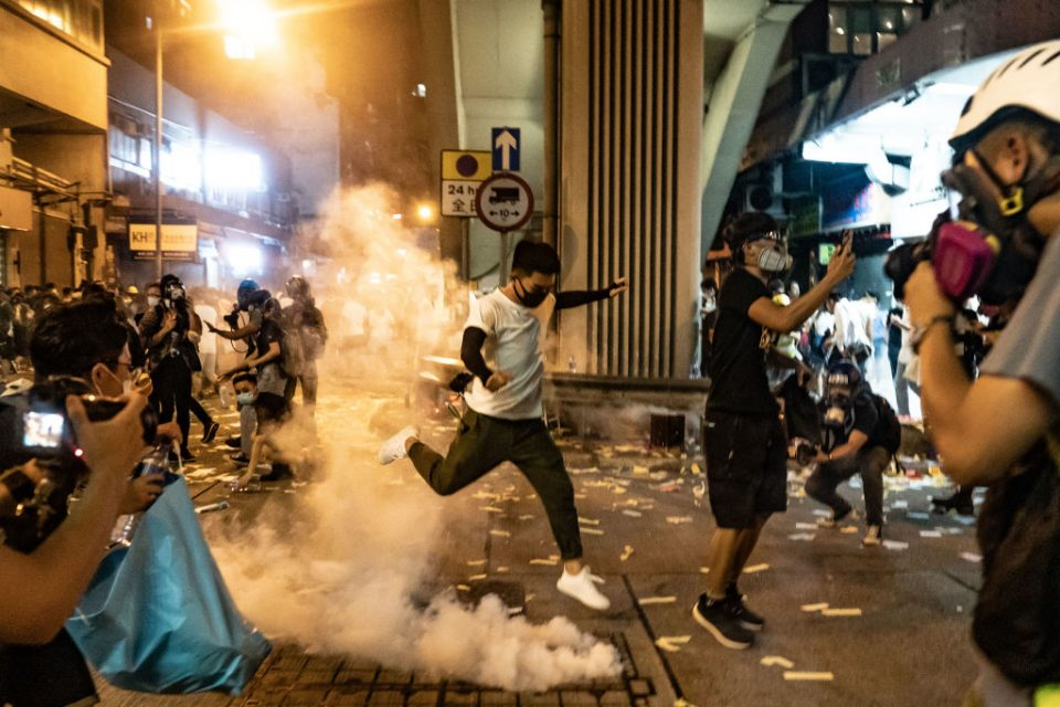 China rages after Trump signs bills in support of Hong Kong protesters