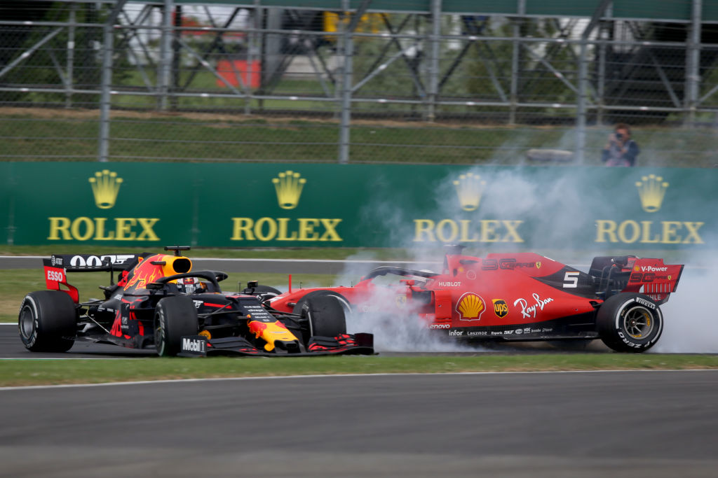 vettel crashes into verstappen