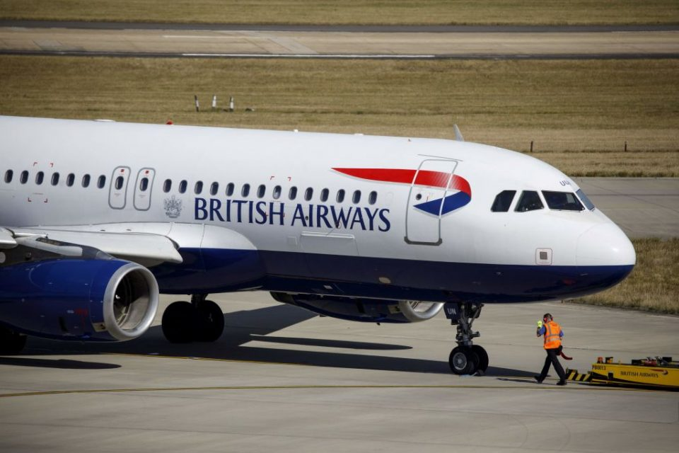 British Airways planes flying to London and Gatwick face delays