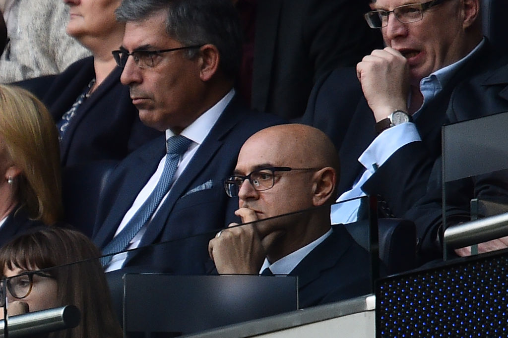 Daniel Levy, Spurs chairman, hired Jose Mourinho this week