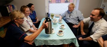 Boris Johnson Campaigns For The Conservatives In Worksop