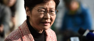 Hong Kong elections: Government leader Carrie Lam