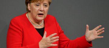 Angela Merkel says Europe cannot do without Nato