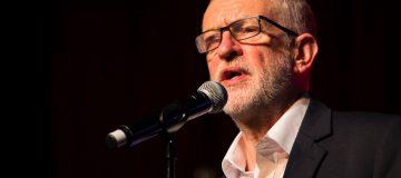 Jeremy Corbyn Addresses Climate Change Rally