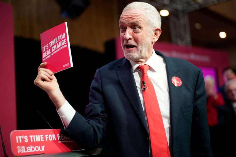 The Labour Party Launch Their Election Manifesto