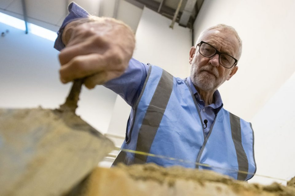 Britain's Labour Leader Corbyn Campaigns In The East Midlands