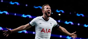 Spurs captain Harry Kane