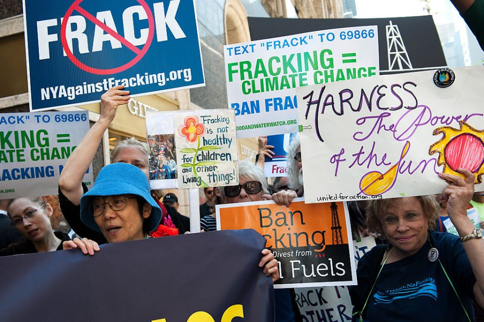 Cracks are beginning to appear in the fracking model