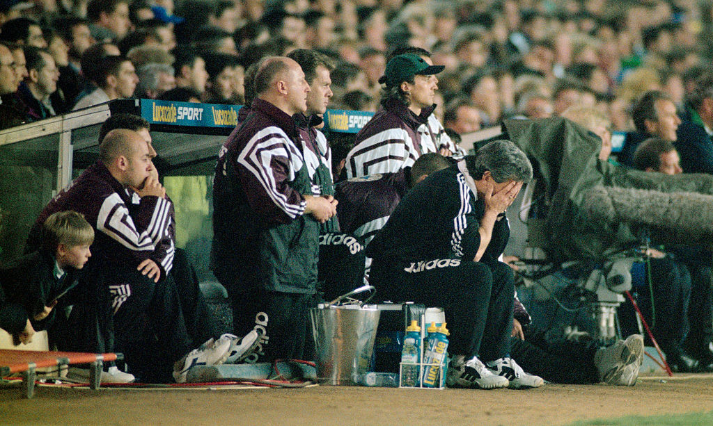 Kevin Keegan Newcastle United Manager 1996