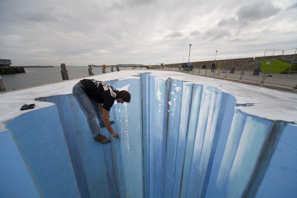 3D Street Art Artist Edgar Mueller - Paintings