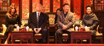 US President Donald Trump and China President Xi Jinping
