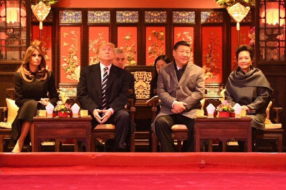 US President Donald Trump and China President Xi Jinping