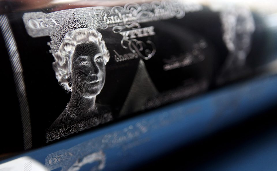 Exhibition Celebrates 50th Anniversary Of Banknote Portrait Of Queen