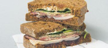 Benugo Christmas sandwich