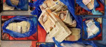 Ten arrested in London over £15m money laundering plot