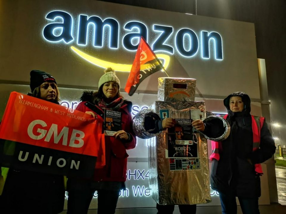 Black Friday: Amazon workers launch protest