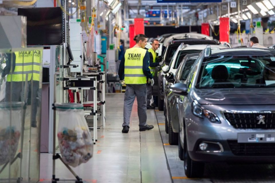 Eurozone industrial production beats predictions but Germany still weak