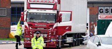 Northern Ireland man arrested in Essex lorry deaths probe