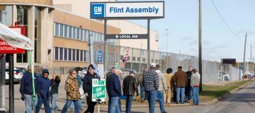 General Motors strikes knocked US jobs figures in October