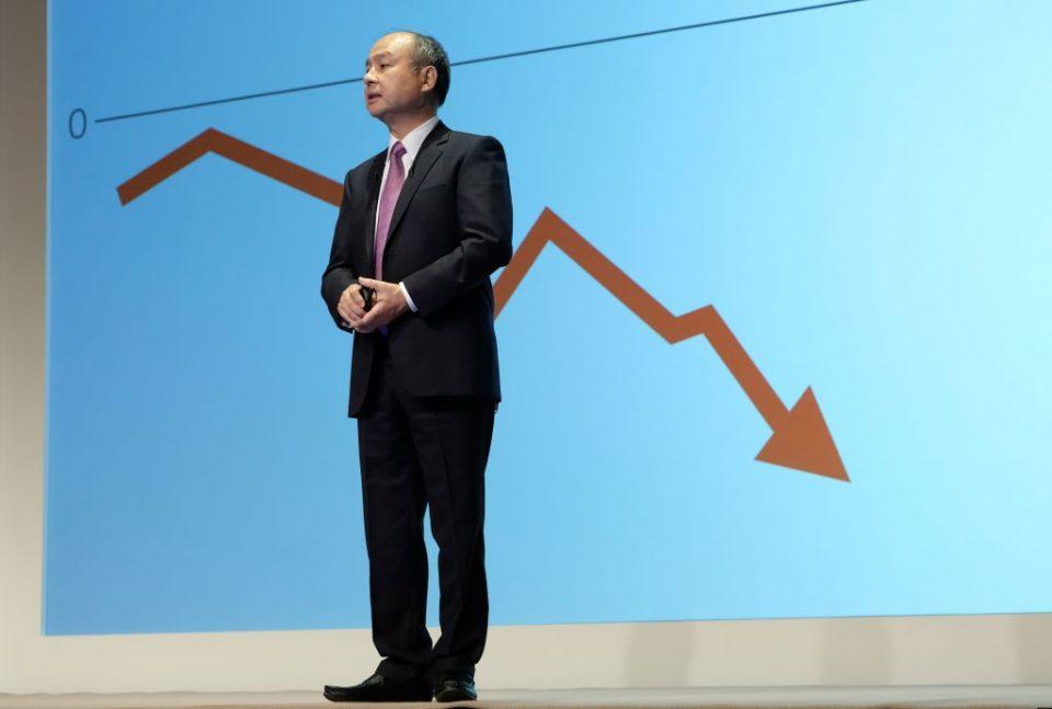 Softbank founder Masayoshi Son