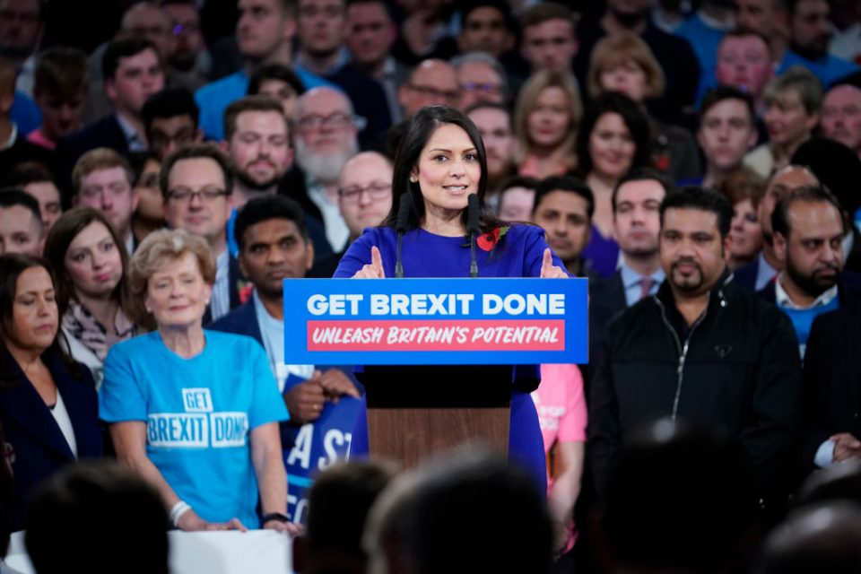General Election 2019: Priti Patel hammers Labour over immigration as party splits on free movement - CityAM