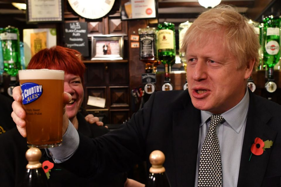 Boris Johnson's Conservatives gain double-digit lead in latest General Election poll