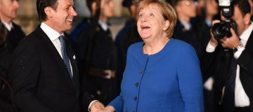 Angela Merkel will be glad her government avoided a Germany recession