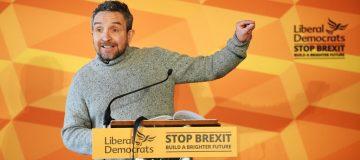 General Election: Film star Eddie Marsan calls Jeremy Corbyn 'either an antisemite or ignorant'