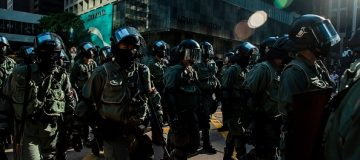 China condemns 'attack' on Hong Kong minister in London