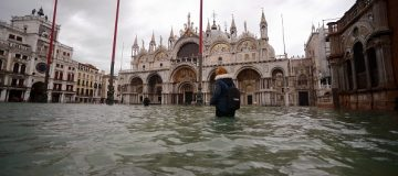Italy declares state of emergency as Venice plunged under water